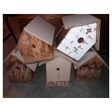 "5 bird houses,11"""