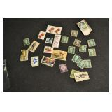 Postage Stamps, Vintage Assorted
