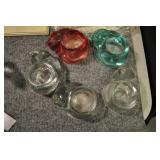 Glass Cat Tea Lights