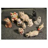 Cat Figurines 5 1/2""