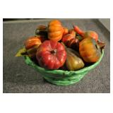 Decorative Baby Gourds And Pumpkins