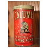 Calumet Baking Soda Tin, Vintage