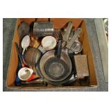 Cookware, Vintage Assorted, Enamelware, Misc