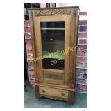 Oak Single  Door Armoire