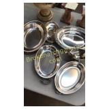 6 Silverplated Items