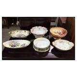 6 Pieces French  Porcelain
