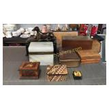 8 Assorted Table Boxes