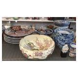 19 Pieces of Asian Porcelain and Ceramics