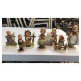 7 Hummel Figurines