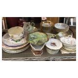 37 Pieces Mixed Porcelain Table Articles