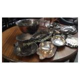 Large Group Silverplated Serving Articles