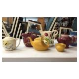 7 Pieces Kitchen Pottery