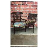 2 Assorted Period Chairs