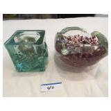 Vintage Murano ashtray (chip underside), glass