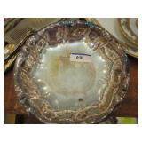 Silverplate footed candy dish West Germany