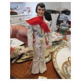 Barbie Elivs collector doll in eagle jumpsuit