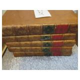 1822 5 vol the History of Don Quixote (leather)