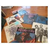 LPs: Pete King, Ike & Tina, Blood Sweat & Tears,