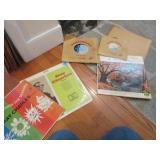 LP: Ray Charles, Hollywood Accordian Quartet, etc