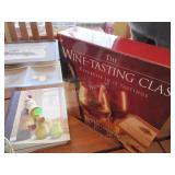 The Wine Tasting Class, wine log, Mud Pie stopper