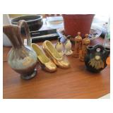 2 Russian perfume bottles in wooden box (NIB),