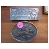 Ltd Ed 8/100 Riley Austin Haven, NV 1984 buckle,