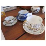 Paragon anniversary cup and saucer, procelain