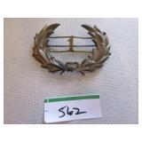 Vintage laurel leaf pin (award?)