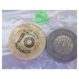 Tophat poke chip, St Des Bains Monaco 10 playing