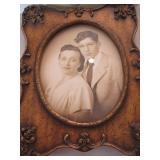 Framed portrait of couple c. 1950