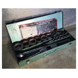 "21 Piece Industrial 3/4"" Drive Socket Wrench Kit"