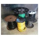 Lot of Wire Spools