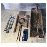 Lot of Misc Wrenches, Hammer, Impact Driver