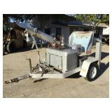Tow Behind Wood Chipper Ford Gas Industrial Engine