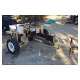 Wood Splitter w/ Briggs & Stratton 8 HP