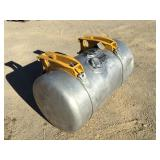 Peterbilt 80 Gallon Fuel Tank w/Brackets