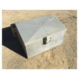 Diamond Plate Side Tool Box