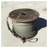 "Spool of 1/4"" Cable"