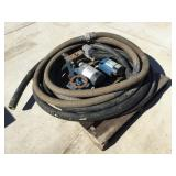 Misc Pump Parts, Electric Motor and Misc Hose