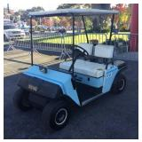E-Z-GO Electric Golf Cart No Charger Works Well