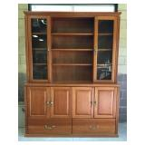 Large Executive Cabinet with Ample Storage and