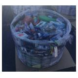 Basket of Misc Christmas Gifts