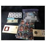 Lot of Collectible Coins, Paper Money and T