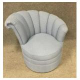 Retro Style Upholstered Sitting Chair