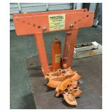 12 Ton Hydraulic Pipe Bender with Attachments