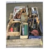 Pallet of Misc Tools