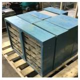 Pallet of Misc Nuts and Bolts Bins