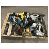 Pallet of Misc Tools, Drills, Attachments