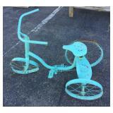 Metal Art Tricycle