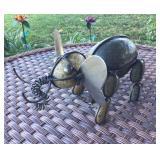 Stone Art Elephant